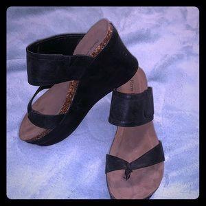 Pierre Dumas wedged sandals
